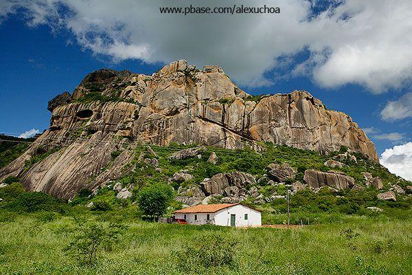 Pedra da cabeça do dragão, Serra do Padre, Quixadá, Ceará - BRASIL