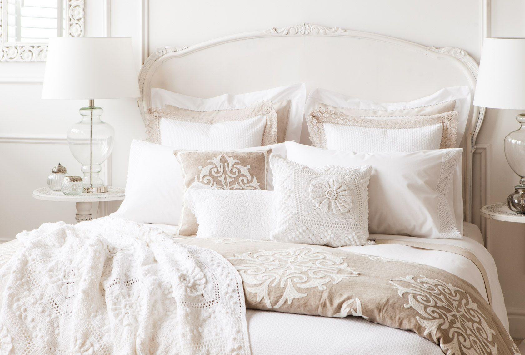 Cama zara home espa a dormitorio pinterest zara - Dormitorios zara home ...