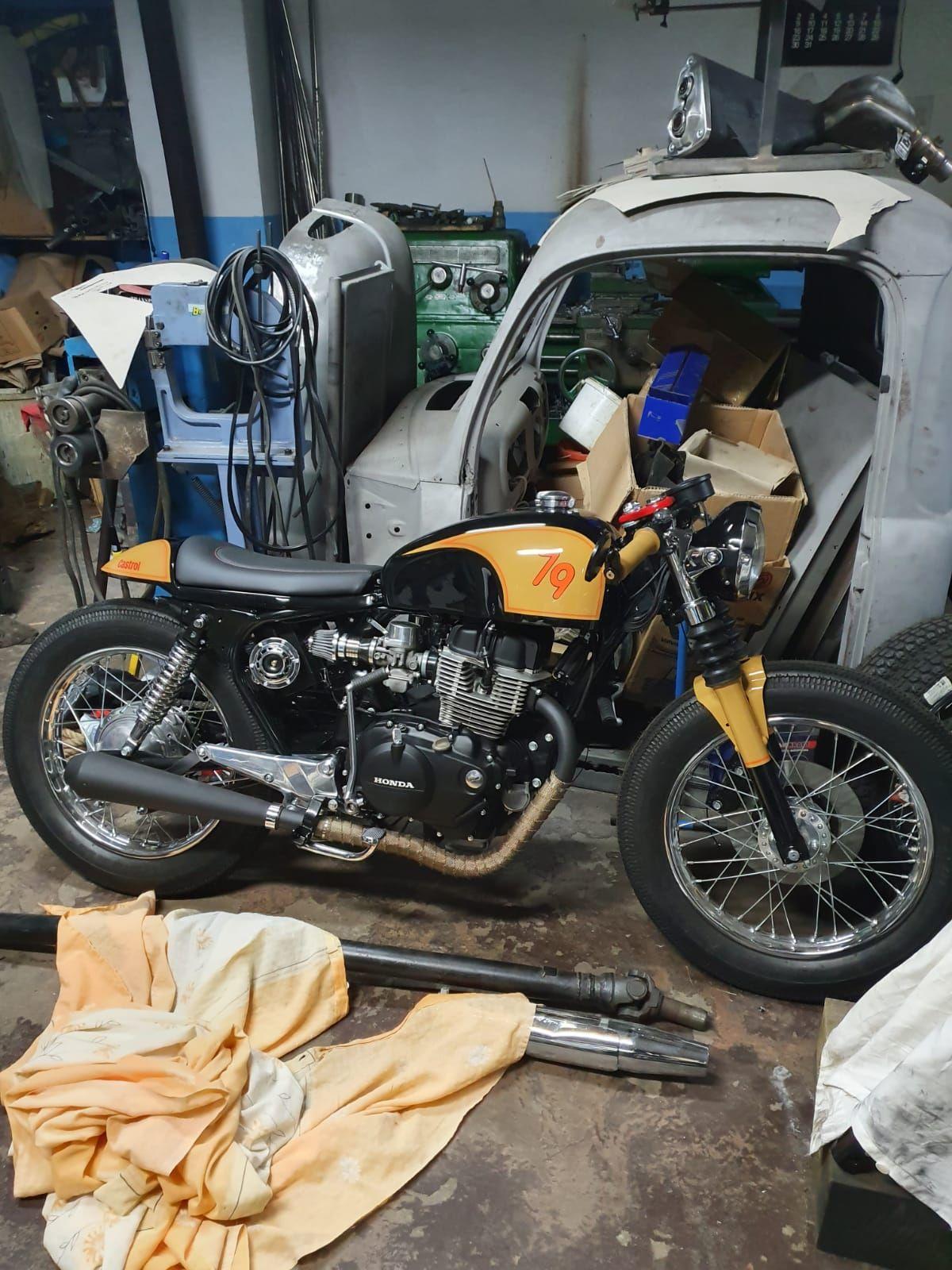 Honda cb250 79 custom cafe racer motorcycles for sale