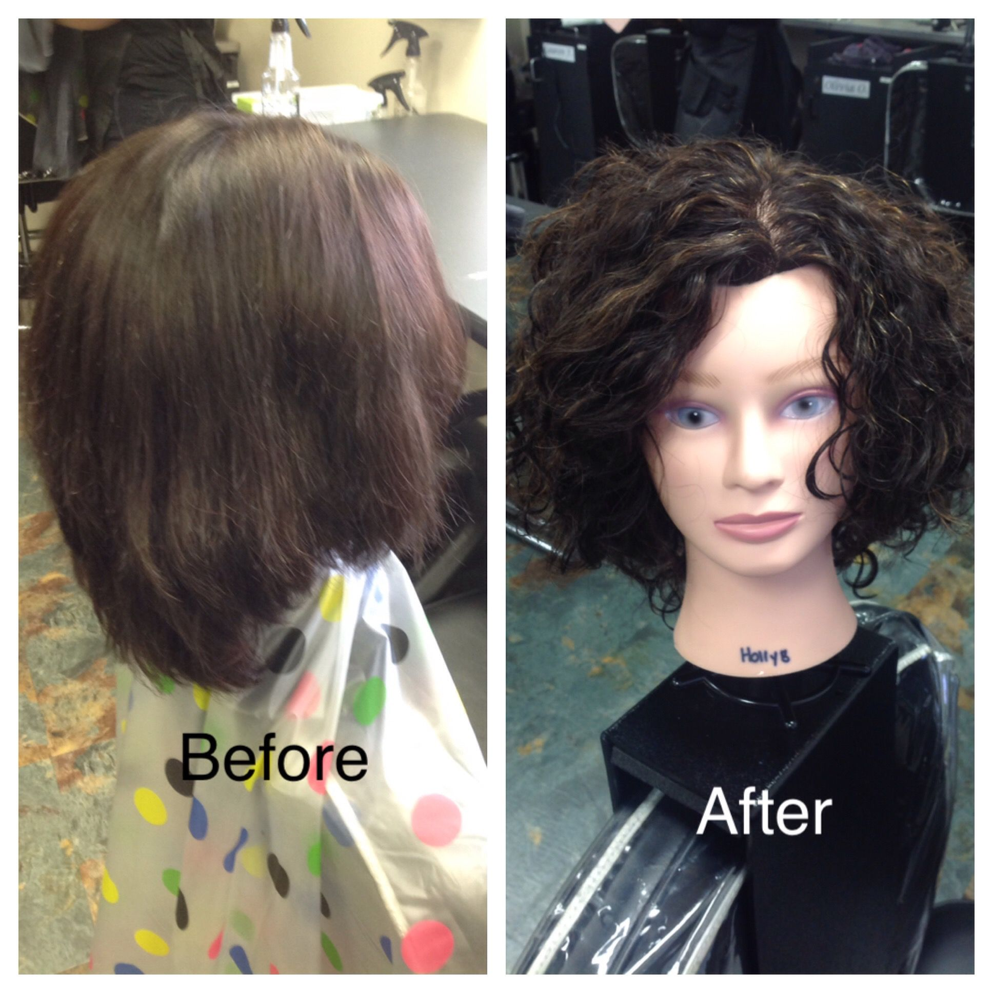 Straight perm solution - Basic Wrap Using Grey Rods And Classic Body Perm Solution