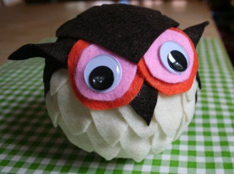 cute little owl craft how-to