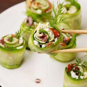 Greek Sushi #dessertsushi