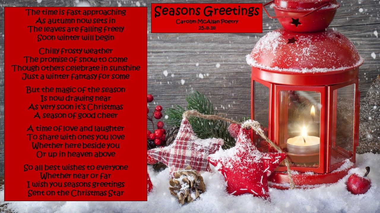 Pin by Carolyn McAllan Poetry on Christmas Seasonal and