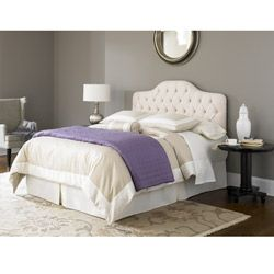 Fashion Bed Martinque Ivory Twin Upholestered Headboard Add A Clic Touch To Your Bedroom With This Upholstered From