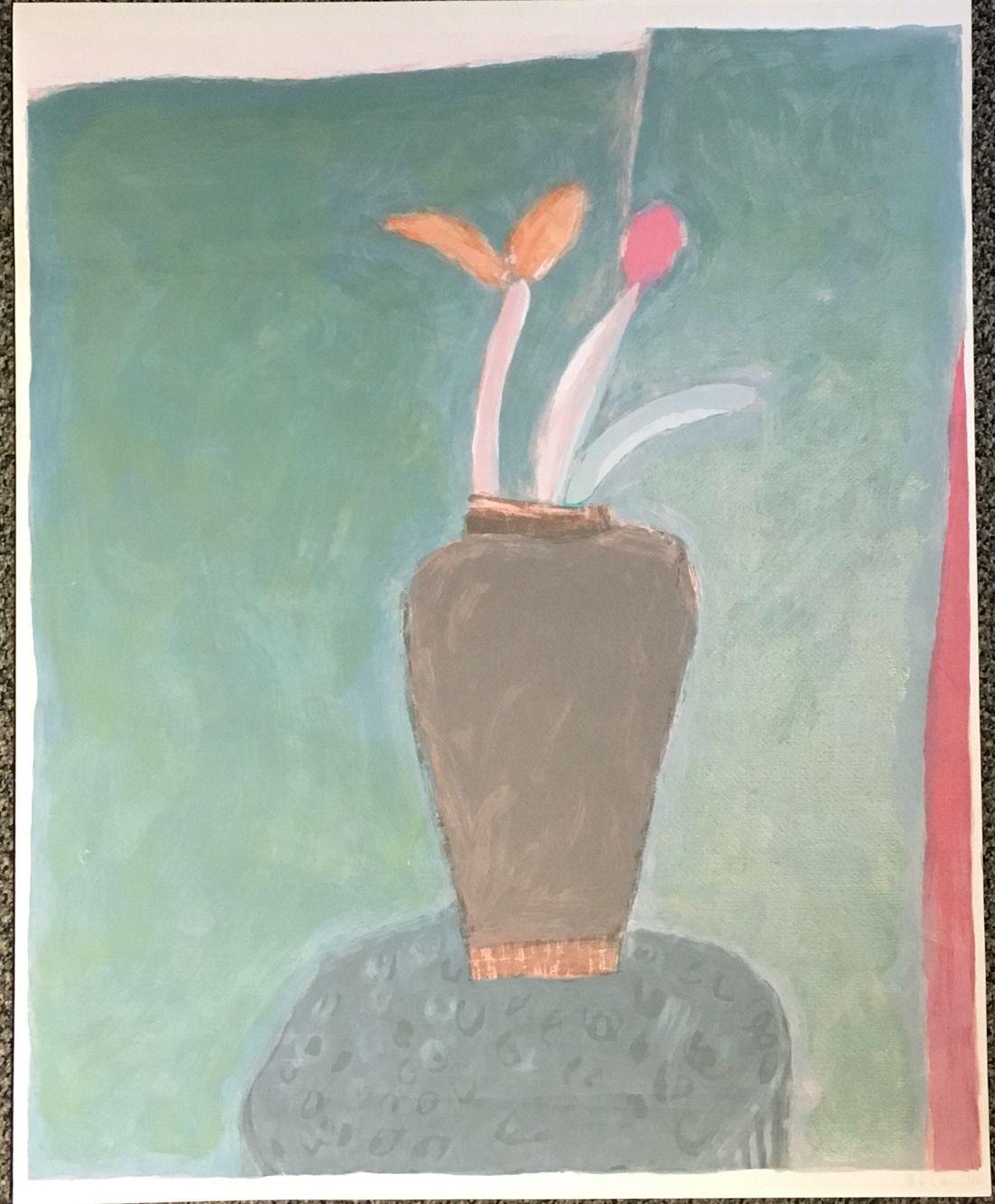 H J Laville Serigrafía 66/100 (60x50) Sin título/2001