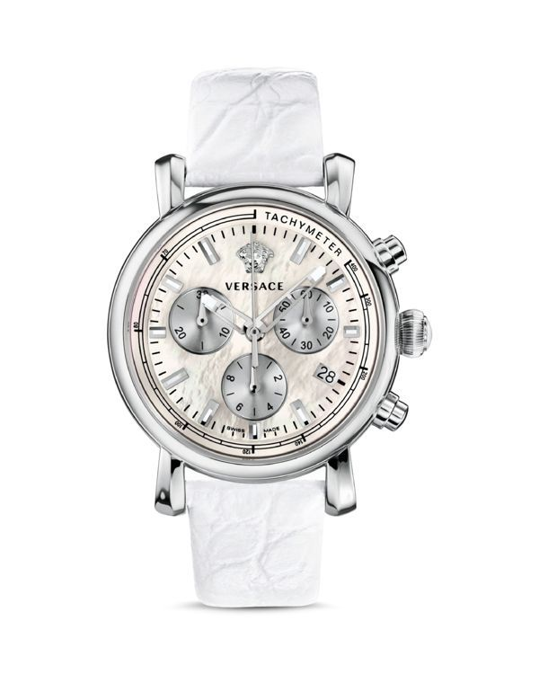 Versace Day Glam Watch with Mother-of-Pearl Dial, 38mm - Compare at $1,695