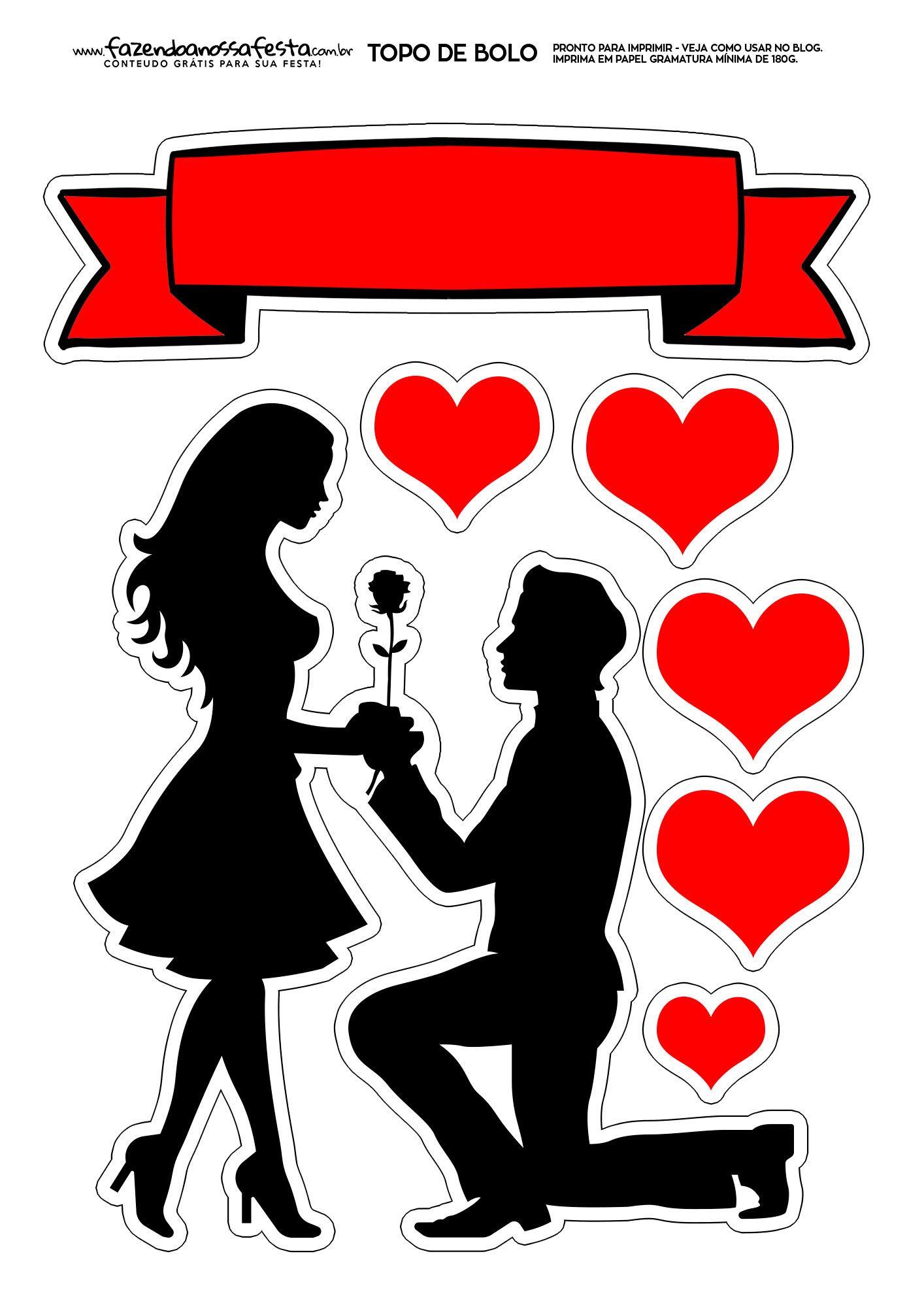 Topo De Bolo Para Namorado 7 Bolo Dia Dos Namorados Topo De