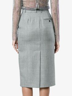 Supply Manchester Online Calvin Klein 205W39nyc checked pencil skirt Sale Online Shop Latest hSjr6K2k