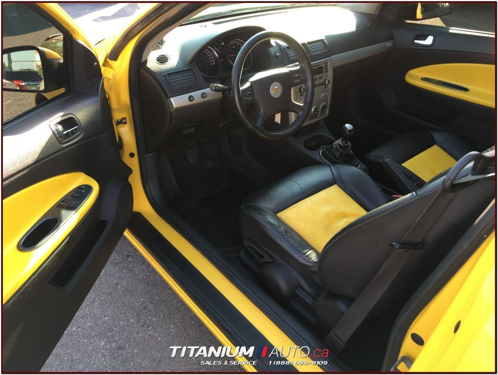 used 2006 chevrolet cobalt ss supercharged yellow and. Black Bedroom Furniture Sets. Home Design Ideas