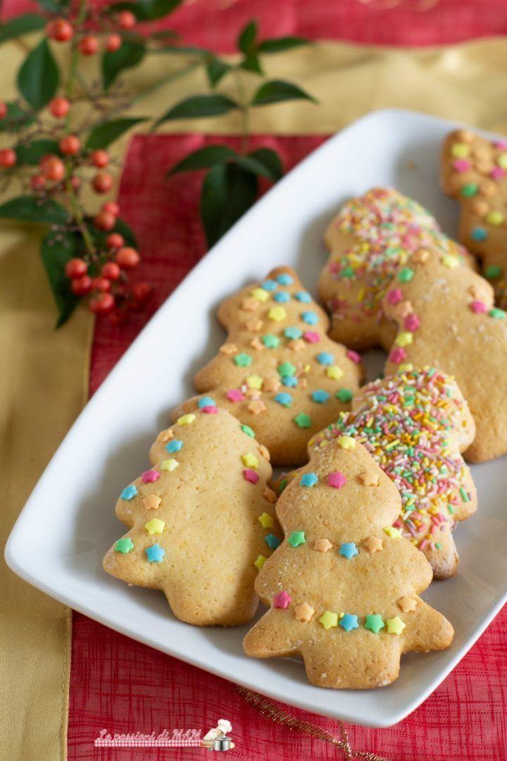 Biscotti Di Natale Ricette Giallo Zafferano.Biscotti Alberelli Di Natale Blog Giallozafferano Le
