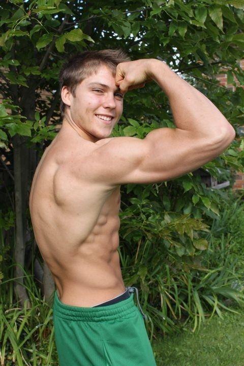 muscle twinks Hot