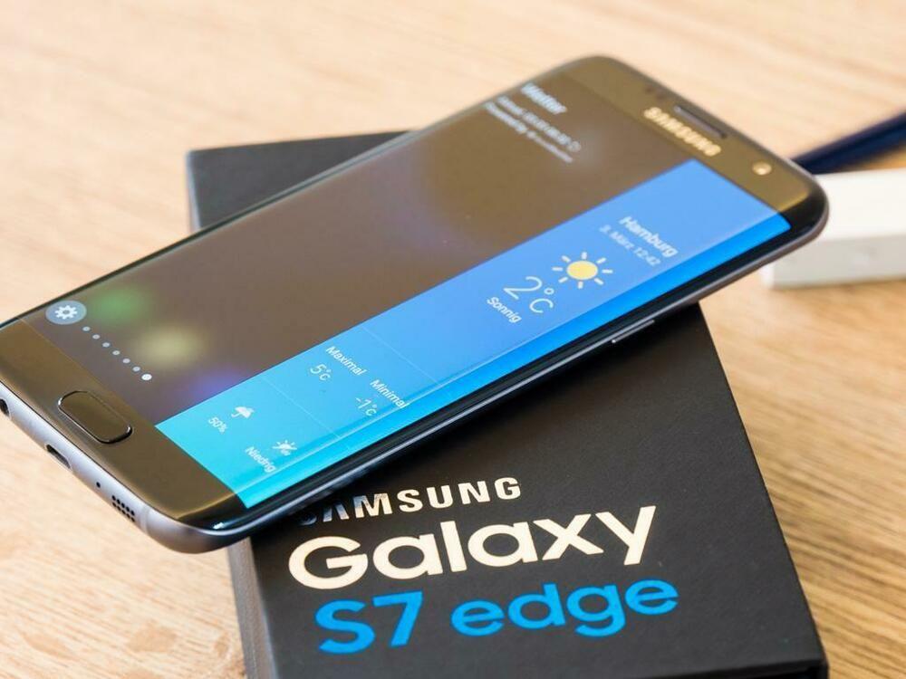 New In Sealed Box Samsung Galaxy S7 Edge G9350 Duos Global Unlocked Smartphone Samsung Galaxy Prepaid Phones Galaxy