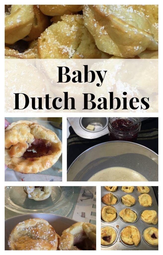 Raspberry Baby Dutch Babies | Breakfast brunch recipes ...