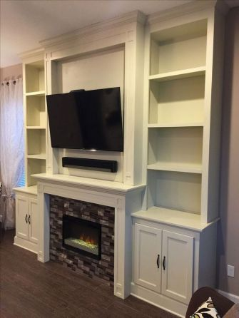 28 Top Fireplace With Built In Cabinets With Tv Mounted Tv Secrets