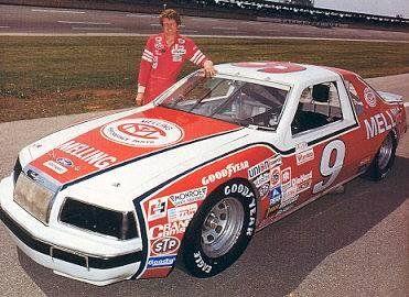 Bill Elliott. 1983 - #9 Melling Ford. #OLDSCHOOLNASCAR