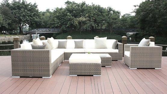 Rattan lounge grau weiß  Die besten 25+ Gartenmöbel abverkauf Ideen auf Pinterest ...