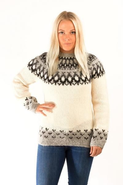The Skipper pullover design is inspired by the classic Icelandic tradition of hand knitted wool sweaters.