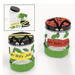 Bug jars... spring carnival
