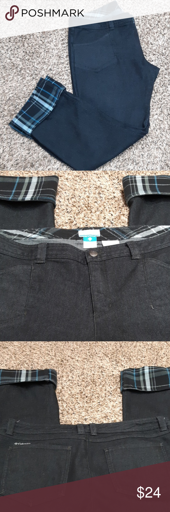 How To Hem Pants With A Cuff Columbia Rolled Cuff Pants Euc Rolled Cuff Pants Cuffed Pants Rolled Cuff