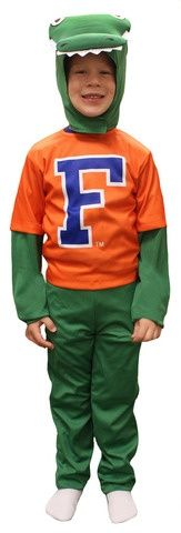 Everyone loves a young Gator fan!  sc 1 st  Pinterest : florida gator halloween costume  - Germanpascual.Com