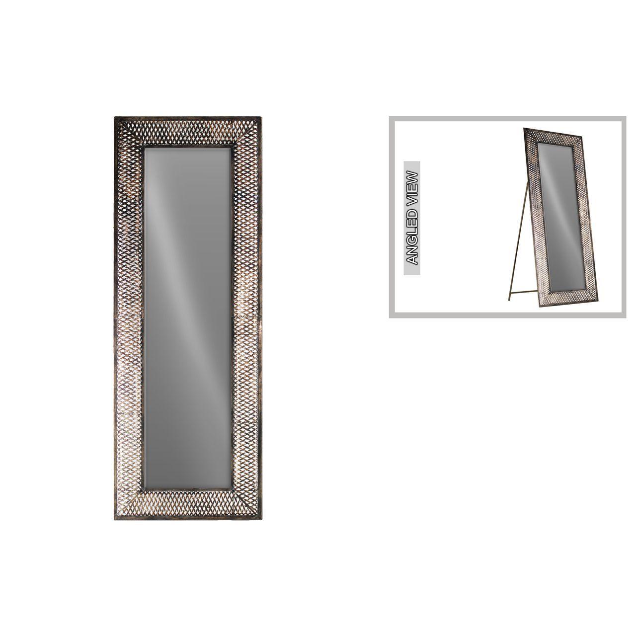 Urban Trends Collection Tarnished Bronze-finish Metal Rectangular ...