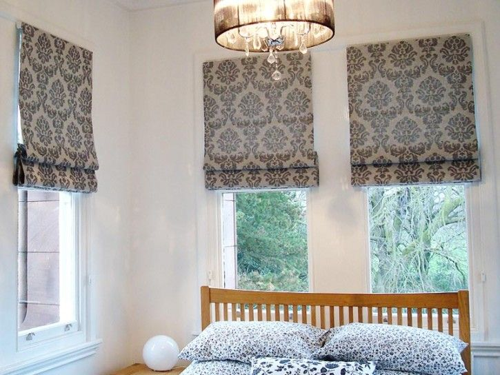 14 Amazing Patterned Fabric Roman Shades Photo Ideas Roman