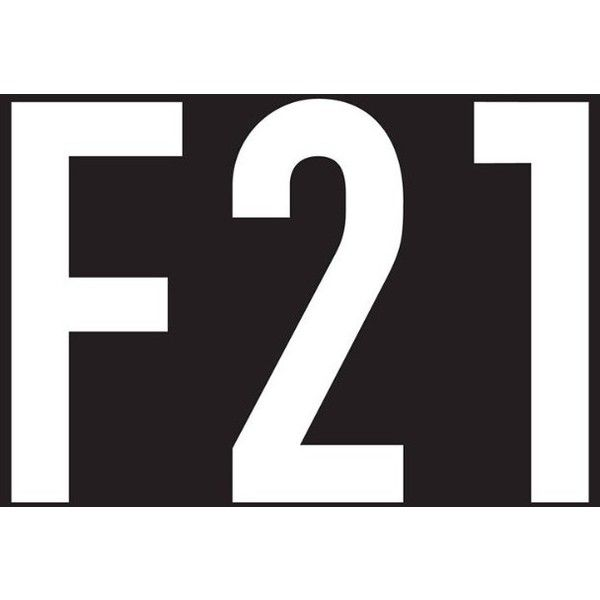Forever 21 Logo Liked On Polyvore Featuring Logo Text Words