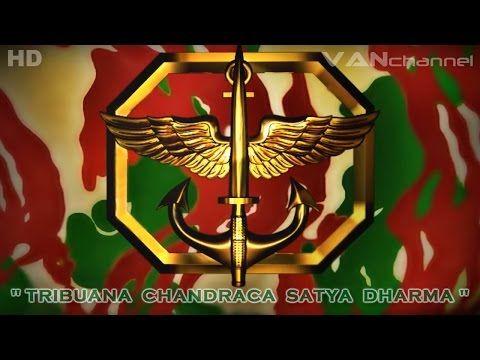 Hymne Kopassus Bikin Merinding Tni Indonesia Youtube Soldier Armed Forces Army