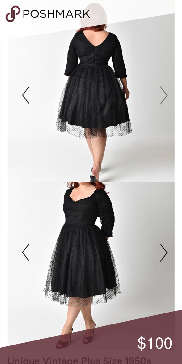 deb90463271 Dress Absolutely enchanted cocktail little black dress. Unique Vintage  Dresses Midi