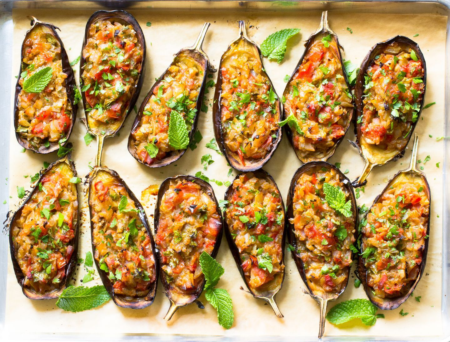 Recipe: The classic Turkish stuffed eggplant can be part of a mezze platter or a vegetarian entree - The Boston Globe