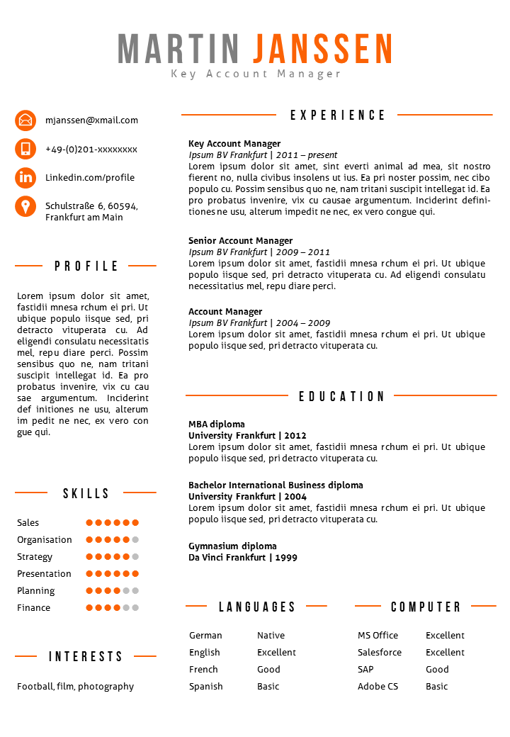 creative resume template in ms word  fully editable  including 2nd page template  u0026 matching