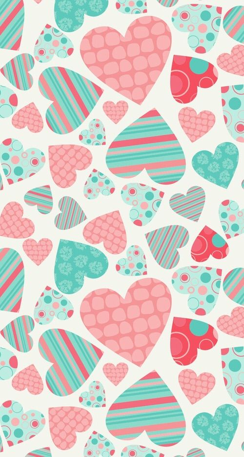 Image Via We Heart It Background Colors Hearts