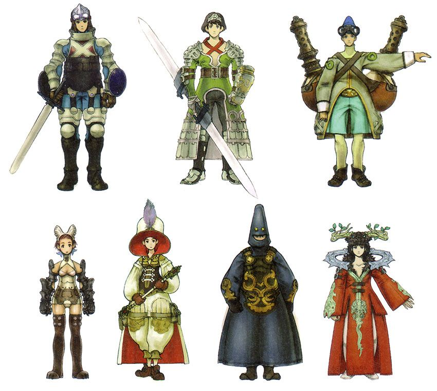 Character Design Career : Character jobs from ash archaic sealed heat