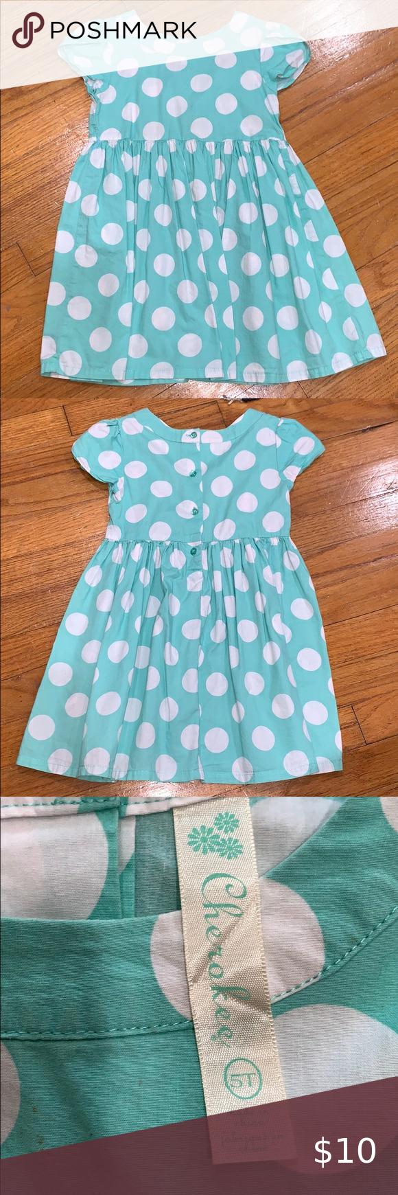 Cherokee 5t Dot Dress Dot Dress Clothes Design Dresses [ 1740 x 580 Pixel ]