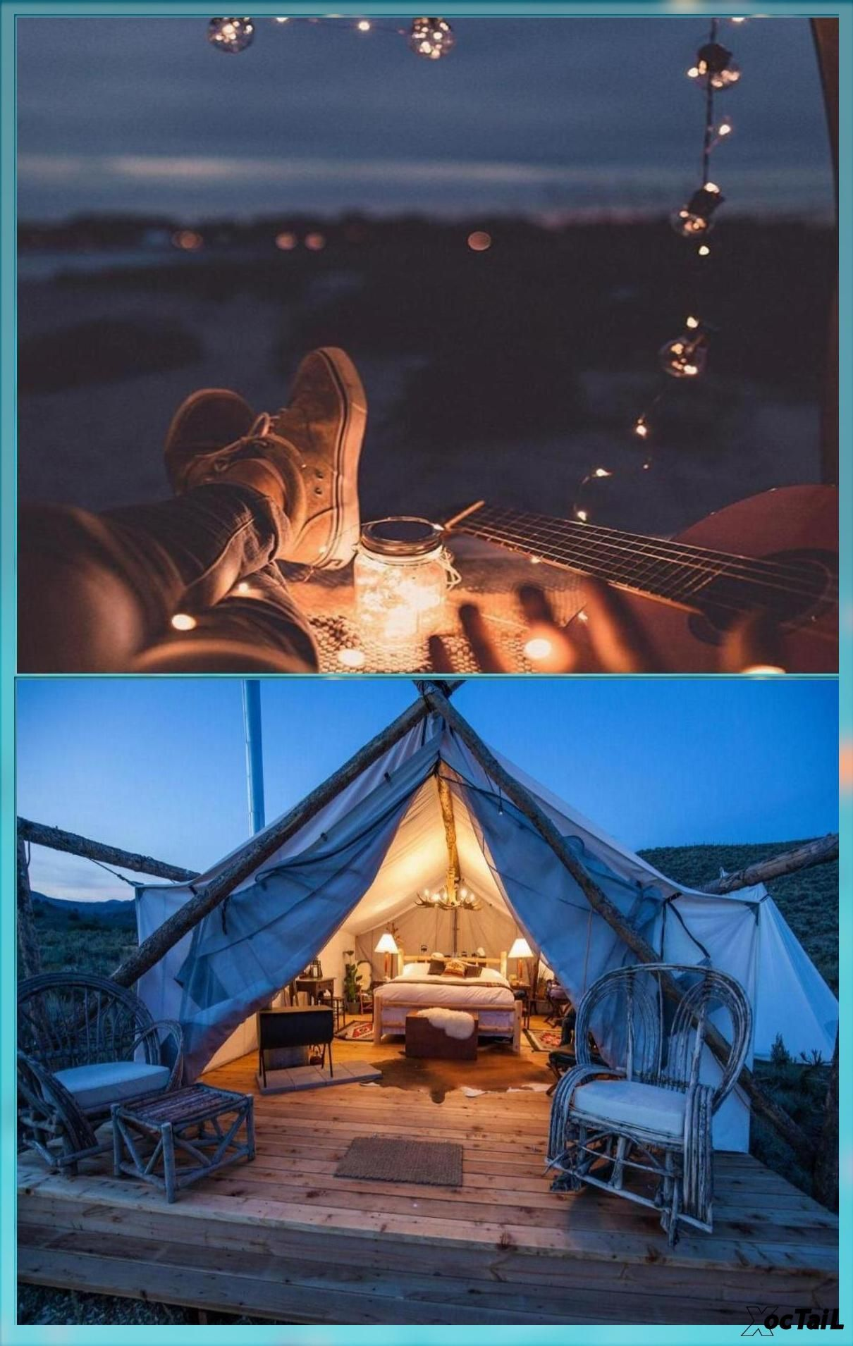 Travel By Rayman Retreats Collective Glamping Camping Tent