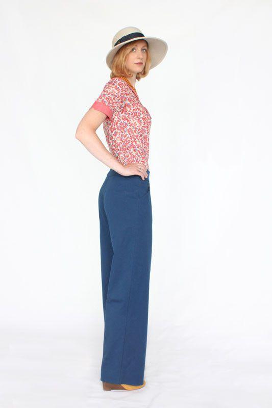 Colette Patterns Juniper Pants Sewing Pattern | sewing | Pinterest