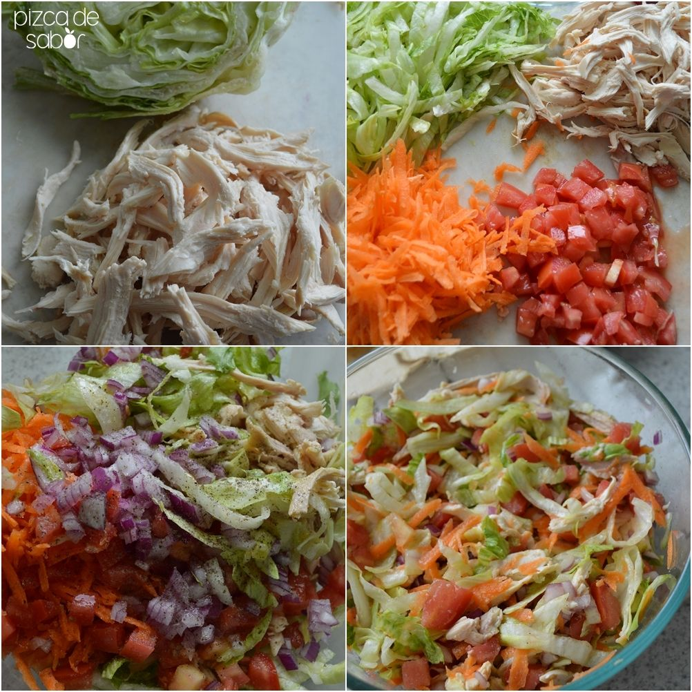 Salpicón de pollo | Receta | Calor, Quiero y Recetas