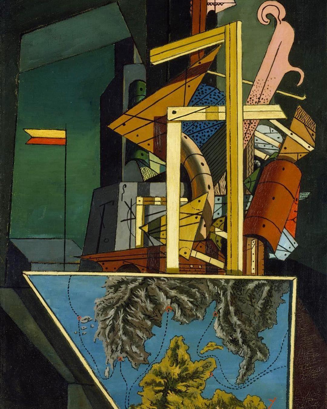 GIORGIO DE CHIRICO, 'The Melancholy of Departure', 1916. Tate ...
