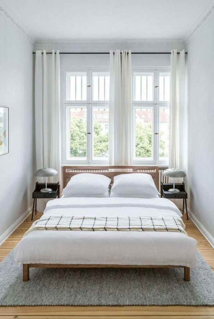 24 Cozy Modern Simple Guest Bedroom Decorating Ideas Bedroom Bedroomdecor Bedroomdecorideas Small Guest Bedroom Minimalist Bedroom Design Simple Bedroom