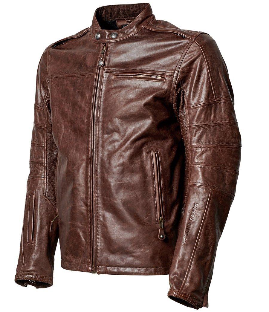 Roland Sands Signature Ronin Roland Sands Design Leather Jacket Leather Jacket Black [ 1044 x 900 Pixel ]