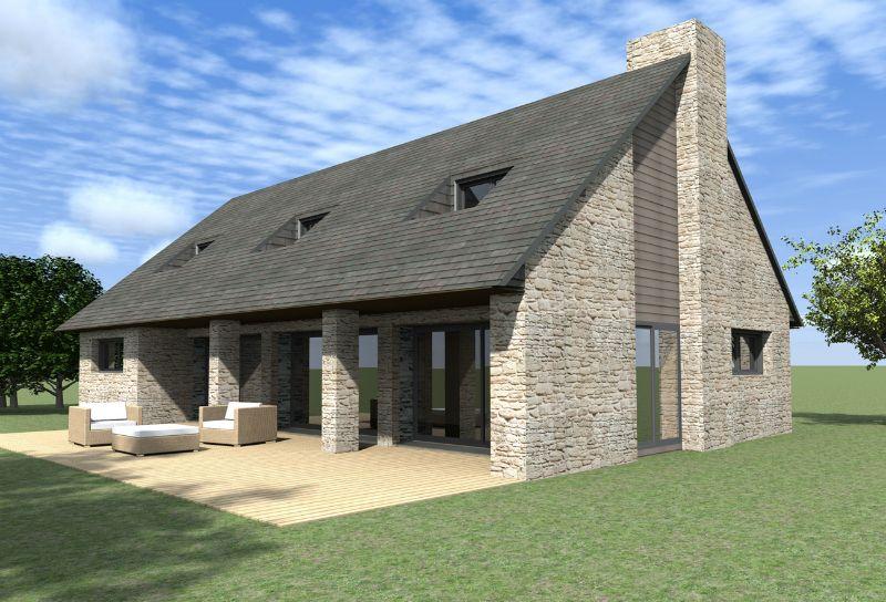 Avant-projet sur Sarzeau Belle maison à étage dans un esprit - plan de maison moderne a etage gratuit