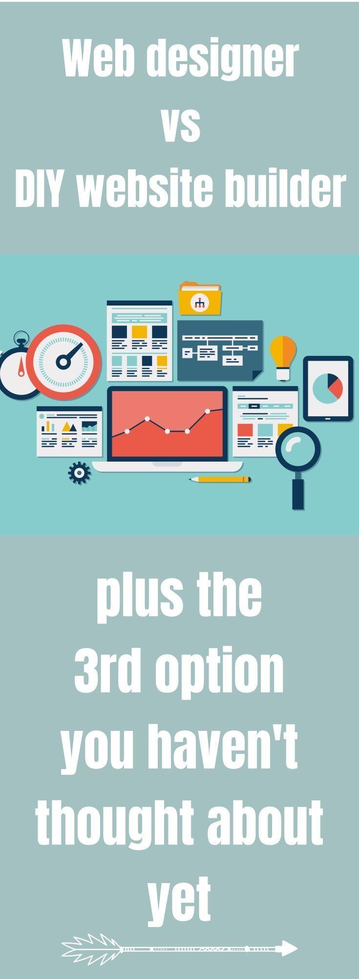 Web designer vs do it yourself website builders website and blogging small business marketing web designer vs do it yourself solutioingenieria Choice Image