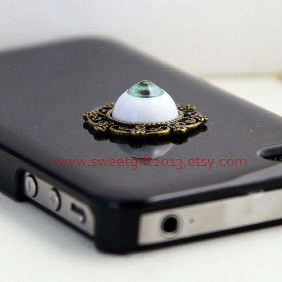 harry potter iPhone 4 Case, black iPhone 4s Case, green evil eye ...