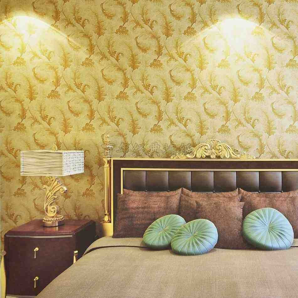 Yellow Bedroom Wallpaper | L.I.H. 182 Yellow Bedroom | Pinterest ...