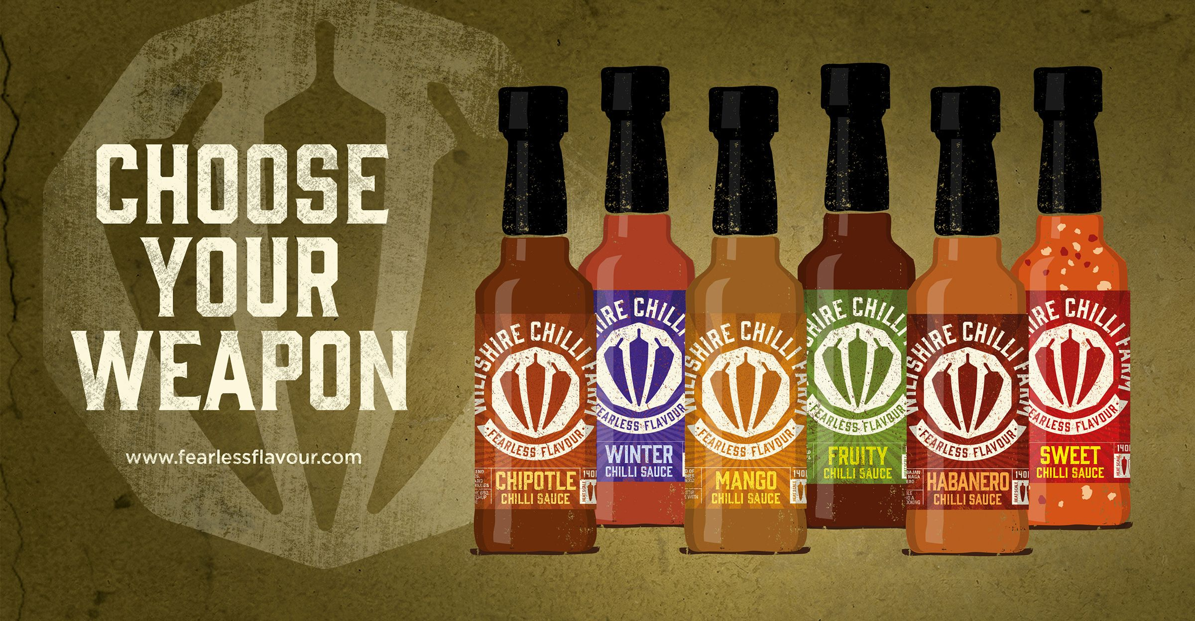 Wiltshire Chilli Farm — The Dieline - Branding & Packaging