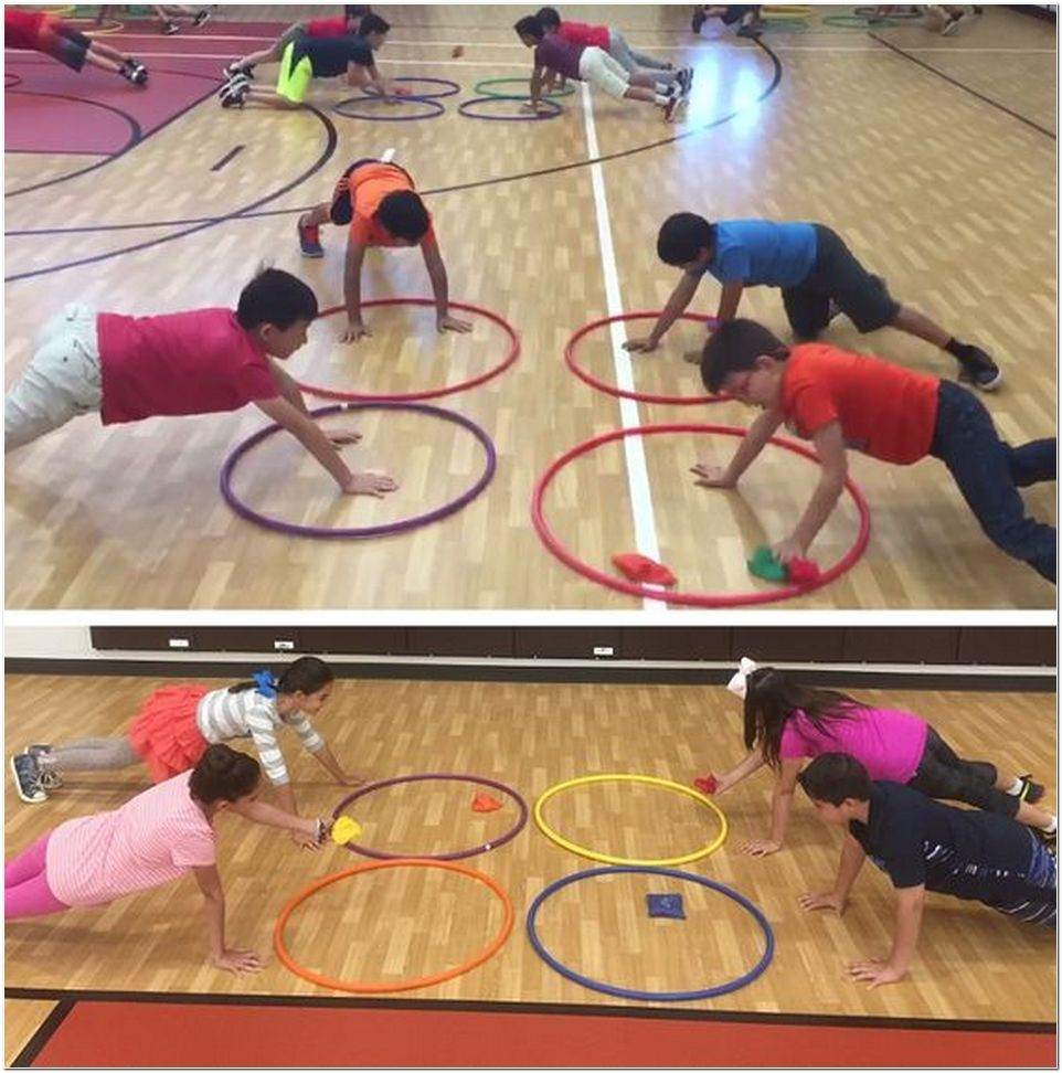 48++ Hula hoop games for physical education mode