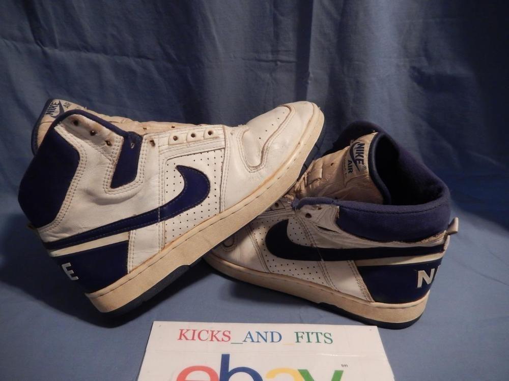 VTG 1987 Nike Air Delta Force AC Basketball Shoes sz 12 Original #Nike  #AthleticSneakers