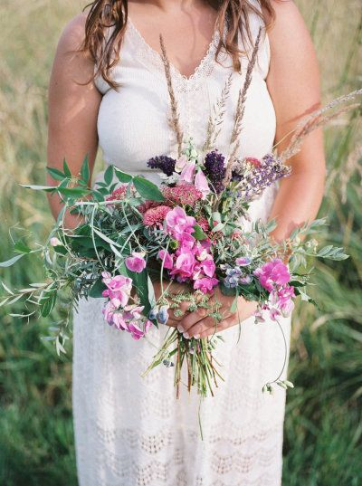 Wild + rustic engagement bouquet: http://www.stylemepretty.com/collection/3345/