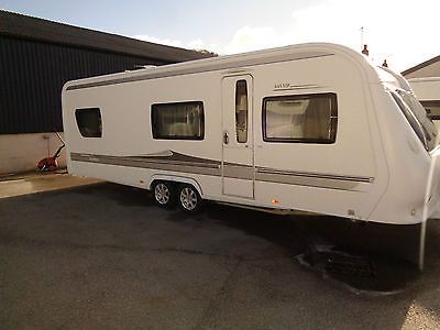 HOBBY 645 VIP 2010 TOURING CARAVAN NOT LMC SWIFT FENDT: £9,975 00
