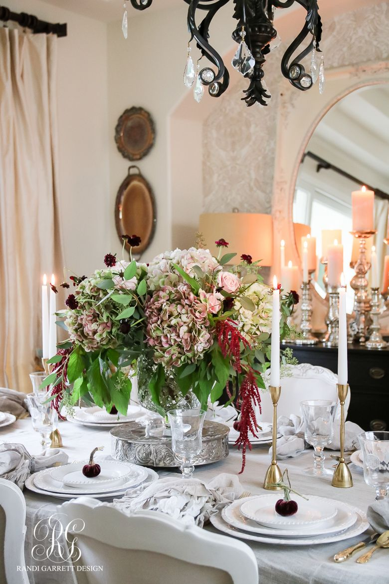 Diy elegant wedding decorations  Traditional Thanksgiving Tablescape  How to Dress your Table